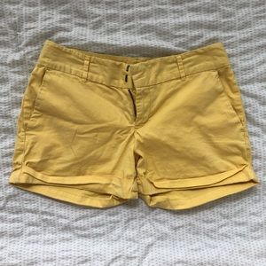 Maddie Everyday Yellow Shorts - Size 2